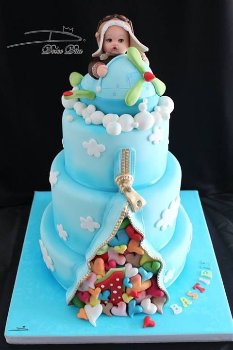 Zipper Illusion Cake