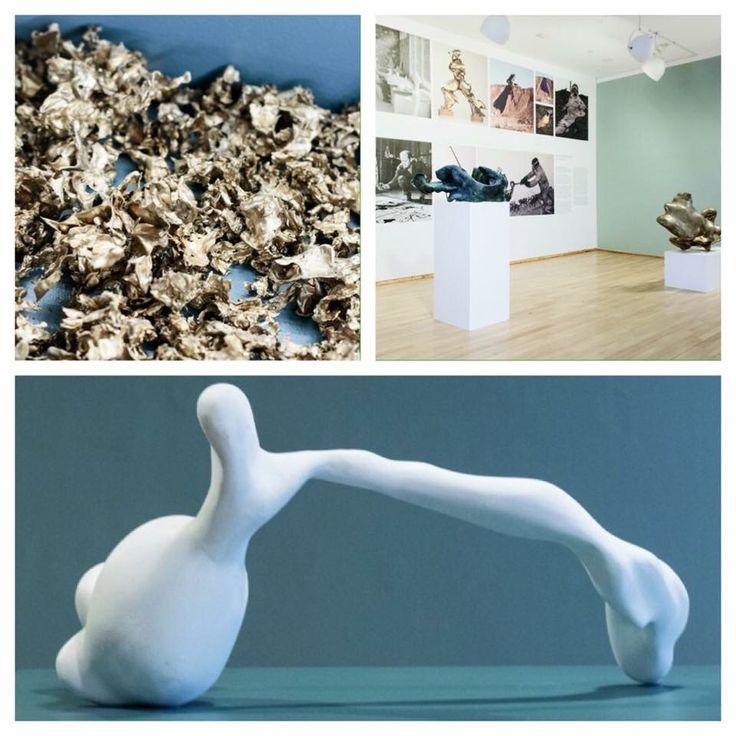 """A Kassens skulptur Bronze Pour (Køge Havn). Udstillingen """"Instant Sculpture"""", som giver indblik i hele processen fra bronzepour i havnen til færdig skulptur, har sidste dag på søndag 20. august. Heldigvis har vi glæde af skulpturen, som bliver på forpladsen også i 2018 🙏🏼 Foto: I DO Art Agency"""