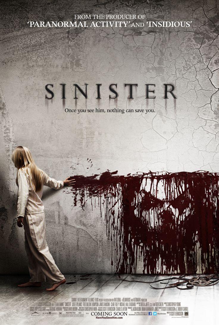 Sinister movie poster.