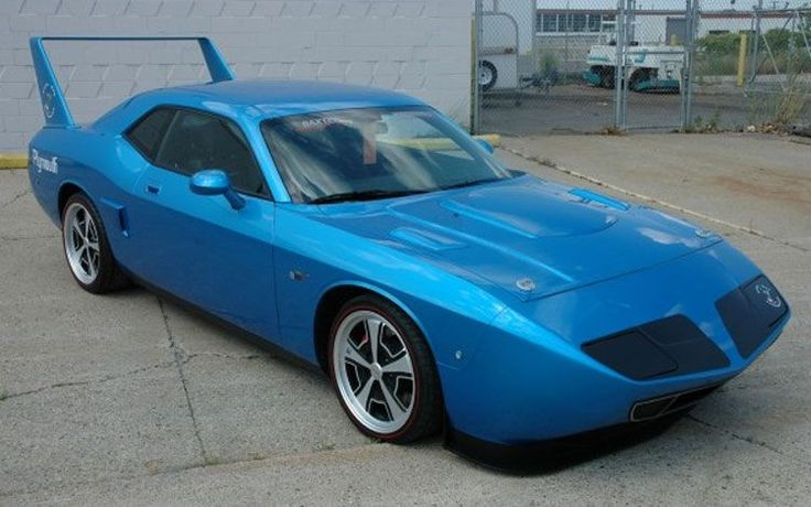 Dodge Challenger converted to a Superbird Love it