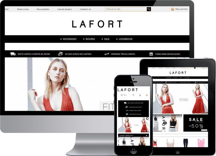 Mais uma loja Virtual em Magento lançada!  Loja Virtual Magento da empresa Lafort que traz o tricot e alfaiataria como nova proposta para a mulher contemporânea, com design inovador e qualidade premium.  http://edersilva.com/portfolio/loja-virtual-magento/lafort/  #DesenvlvedorMagento #ProgramdorMagento #LojaVirtualMagento #Magento #LojaVirtual #Tricot #Alfaiataria