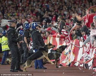 Cologne fined £53,000 for Arsenal crowd trouble ahead of Europa League game