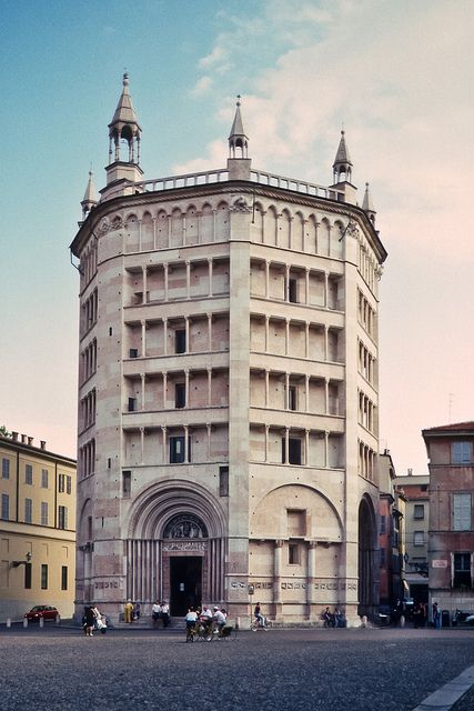 Parma: the Baptistry by netNicholls on Flickr.