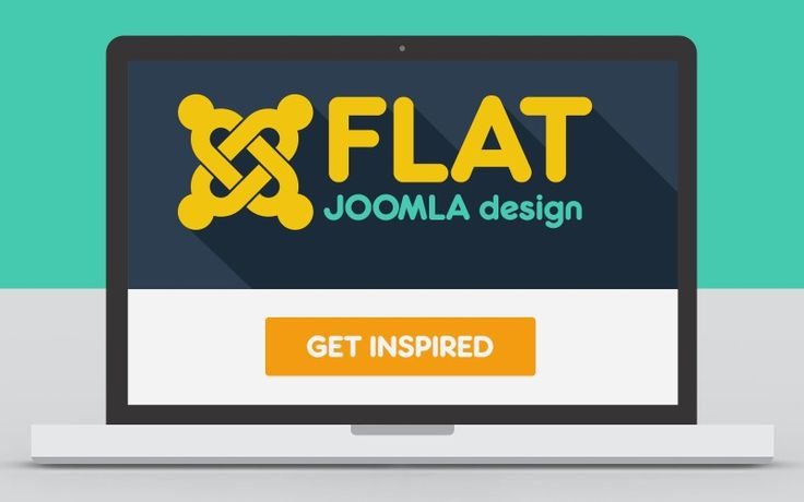Cover for an article I wrote on Flat design for the Joomla Community Magazine   http://magazine.joomla.org/issues/issue-aug-2013/item/1436-17-flat-joomla-templates-for-inspiration