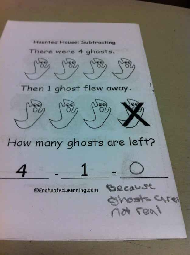 This kid, whos had enough with this paranormal crap. | 18 Kids Who Are Way Too Sassy For Their Own Good