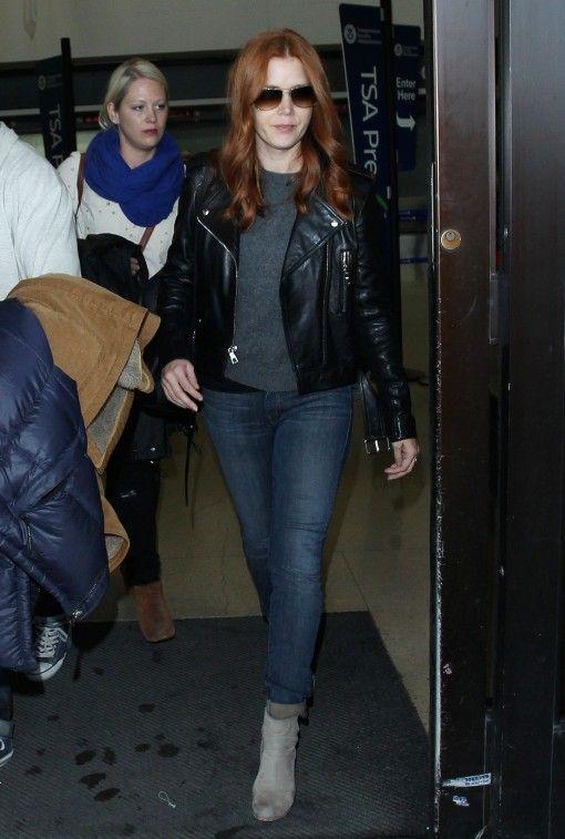 Amy Adams Great Leather Jacket Coat Love Amy Adams