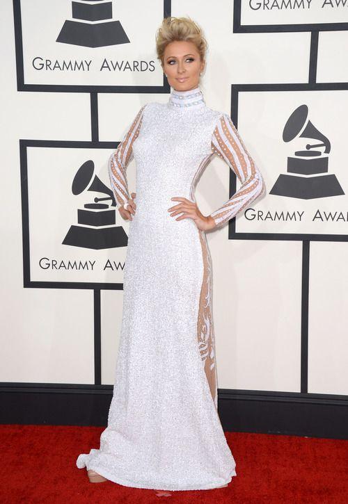 Paris Hilton en los Grammy´s 2014: http://www.charadaimagenpersonal