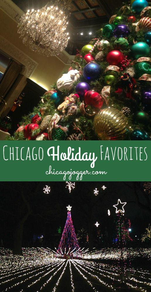 Chicago Holiday Favorites - the best holiday activities in the city | chicagojogger.com