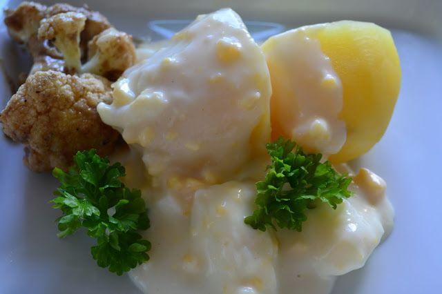 Viikonloppukokki: Viikonloppukokki retrokokkina: kananmunakastike