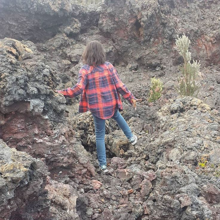 In this picture I'm walking on lava that had erupted from a volcano and hardened on Big Island Hawaii. I studied geology at university.  When I was about 21 someone gave me Steve Jobs' commencement speech. I still re-read it from time to time and one of the things I remember most about that speech was Jobs saying that you cannot connect the dots in your life looking forward you can only connect them looking back.   As a child in primary school I picked up and kept little rocks that I thought…