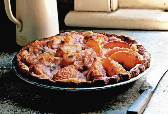 Peach and Crème Fraîche Pie | Recipe