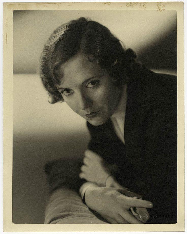 Sophisticated Art Deco Flapper Lois Wilson Vintage C.S. Bull Large Photograph