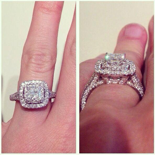Littman Halo Engagement Rings