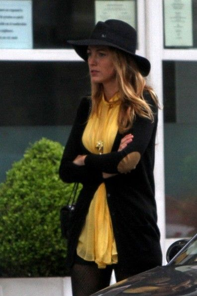 Blake Lively - Blake Lively and Ryan Reynold's Brother in London