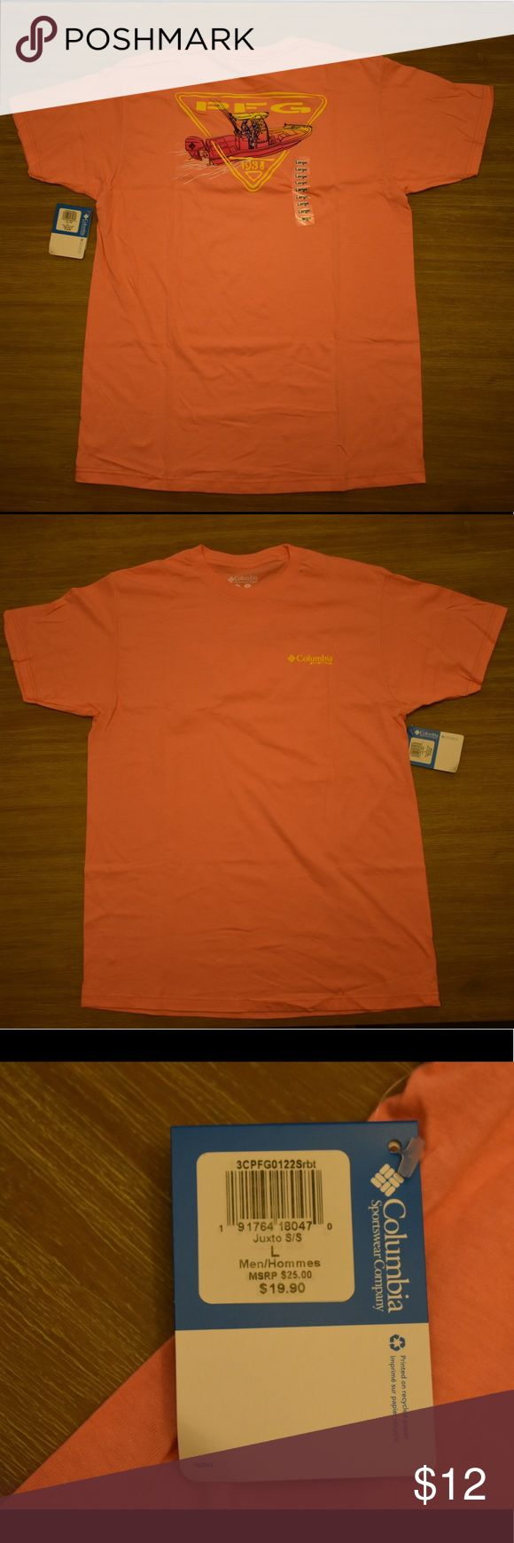 Columbia PFG Shirt Brand new never worn, Tags are still on the item. 100% authentic, I am a wholesale buyer of Columbia. If any questions please comment below. Columbia Shirts Tees - Short Sleeve