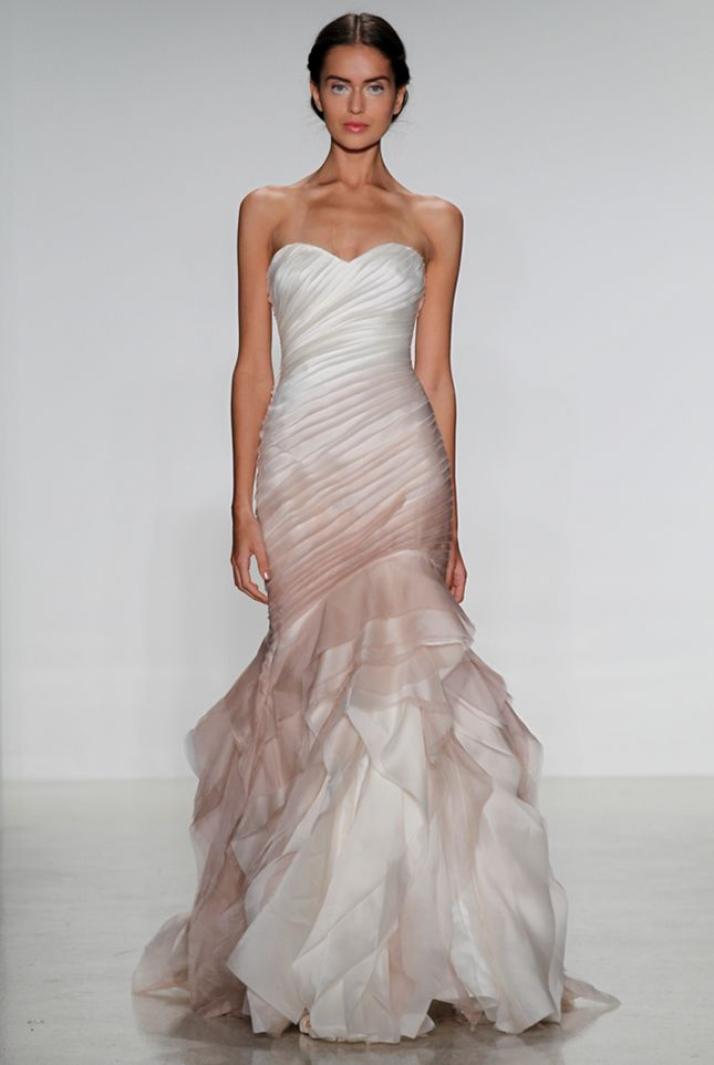 20 Stunning Non-White Wedding Dresses for the Bold and Daring - Wedding Dress: Edan by Kelly Faetanini