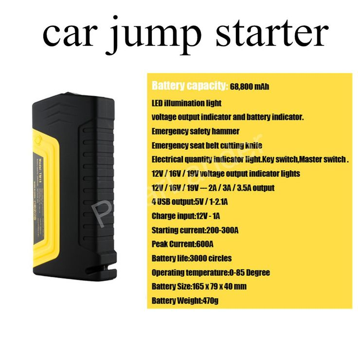 new arrival 12V Multifunction Jump Starter Car Emergency 4 USB Power Bank Battery Charger for diesel and gasoline car with pump //Price: $US $71.83 & FREE Shipping //     #samsung