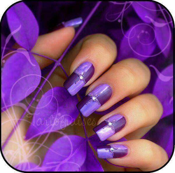 Purple nails!