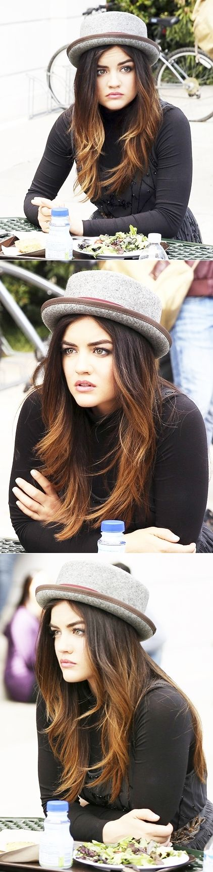Lucy hale -layers - color