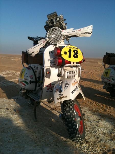 Vespa Paris Dakar