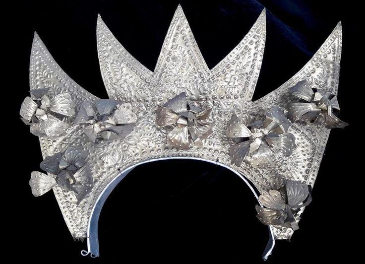 Crown Headdress Padang Sumatra Art Jewelry Wedding Tradition Ceremonial Hair Pin #Indonesianjeweler