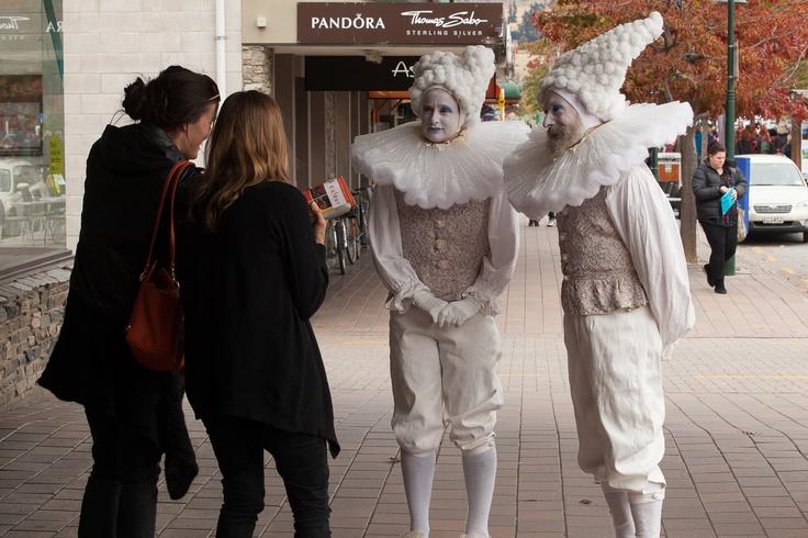 'The Apolgisers' apologise at the 2013 Festival of Colour, Wanaka, New Zealand