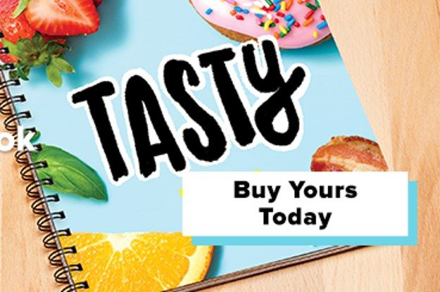 Customize And Buy The Tasty Cookbook Today