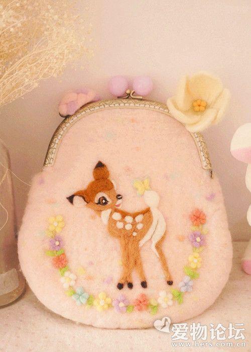 Deer purse -Bambi