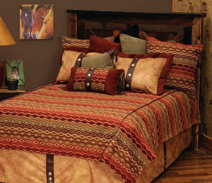 17 best images about bedding for western southwestern cabin and lodge decor on pinterest las. Black Bedroom Furniture Sets. Home Design Ideas
