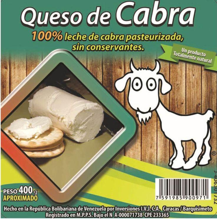 100% Queso de cabra natural natural y sin quimicos.