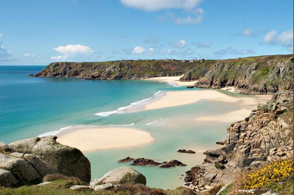Porthcurno, Cornwall | 23 Beautifully Desolate Beaches In The UK