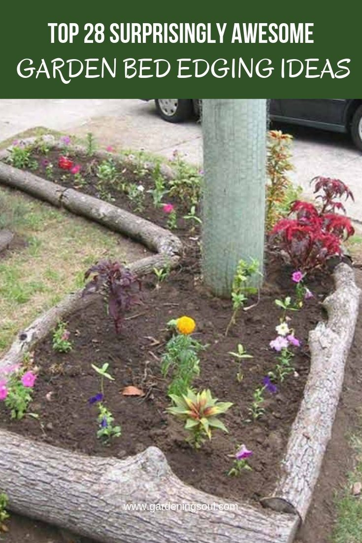 Top 28 Surprisingly Awesome Garden Bed Edging Ideas Garden Ideas Cheap Garden Edging