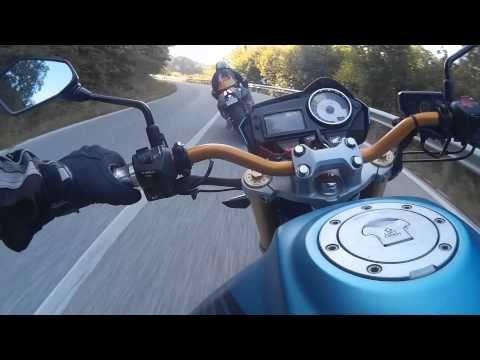 VALICO DEL MACERONE IN MOTO SUZUKI GSX-R VS HORNET