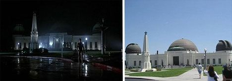 Griffith Observatory - Los Angeles, CA - TerminatorReal Life, Movie Locations, Griffith Observatory, Los Angeles, Los Angels, Life Movie, The Moon