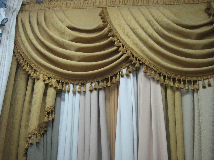 cortinas para el hogar modelos de cenefas proyectos que