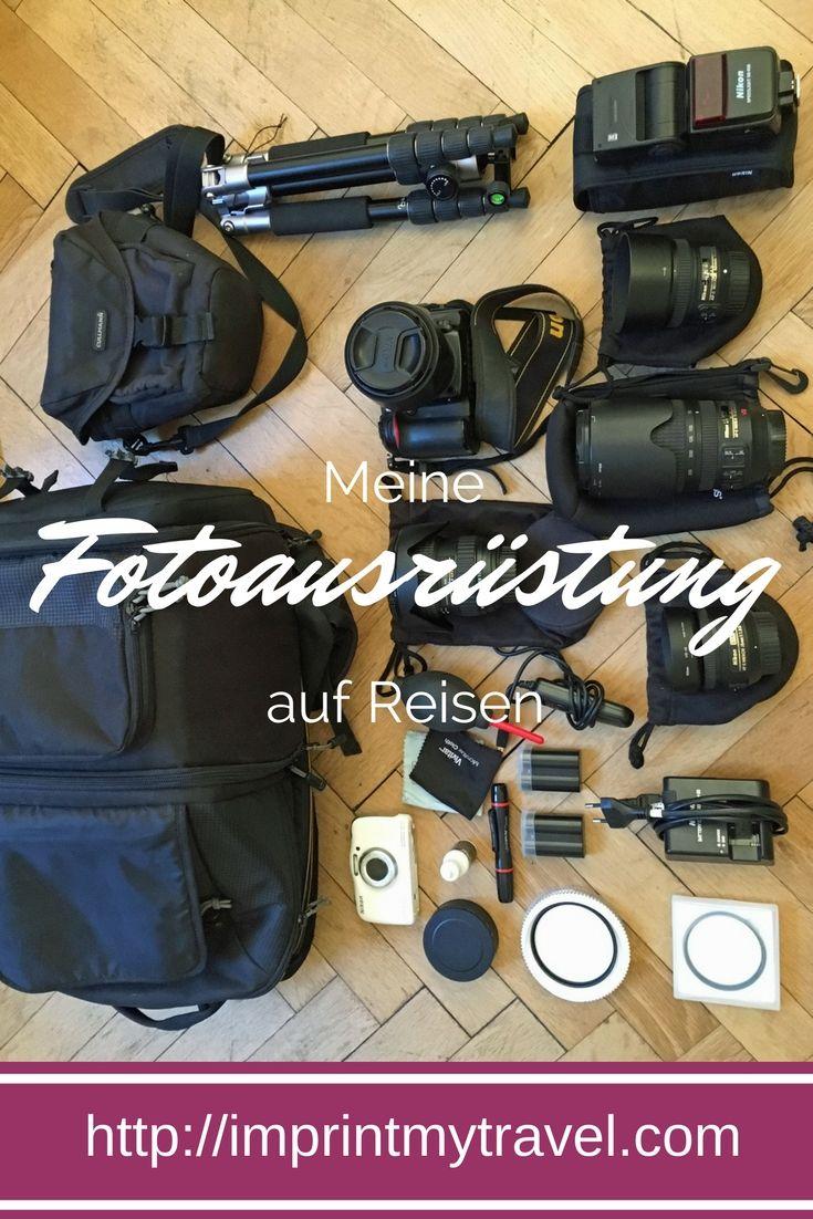 Fotografie Empfehlungen: In diesem Artikel stelle ich dir meine Kameraausrüstung auf Reisen vor. Die gesamte Fotoausrüstung für perfekte Reisefotografie!