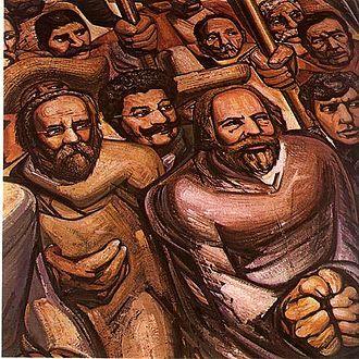 José de Jesús Alfaro Siqueiros, más conocido como David Alfaro Siqueiros, Del porfirismo a la Revolución