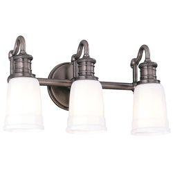 Hudson Valley Lighting 2503 Three Light Wide Bathroom Fixture From The Br Antique Nickel Indoor Fixtures Vanity
