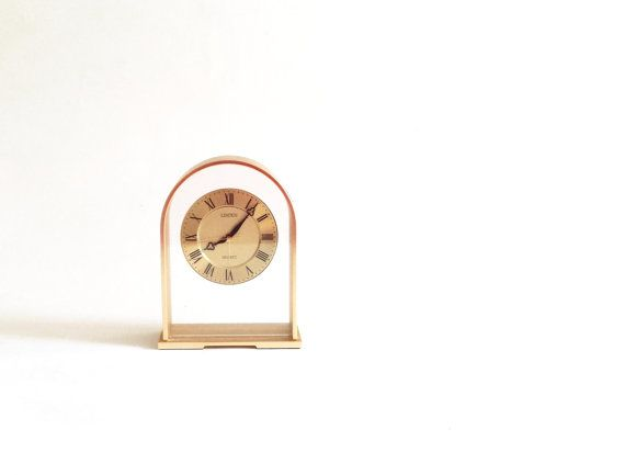 Linden Quartz Clock Mantel Clock Shelf Clock Desk Clock