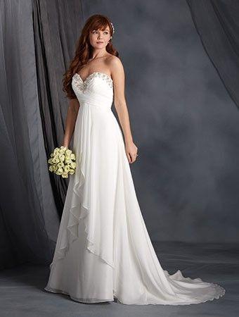 Hall Ball Gown/Askunge Chic & Modern Bröllopsklänningar 2016