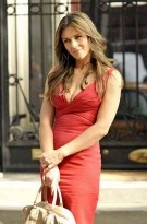 Elizabeth Hurley Sexy Short Red Party Cocktail Dress Gossip Girl 5.$99.99