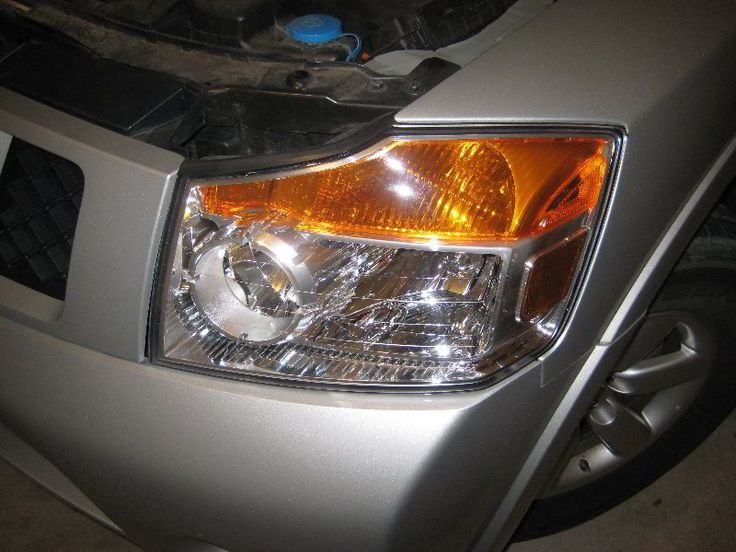 How To Replace A Burnt Out Headlight Brights Turn Signal On