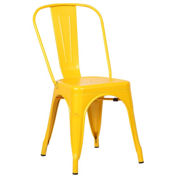 Trattoria Side Chair in Yellow