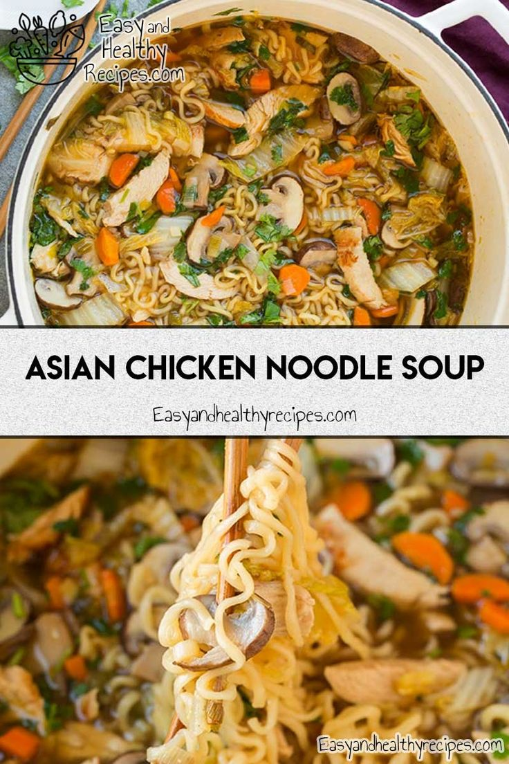 30 Homemade Noodle Soup Recipes That Promise Keep You Amazed – Sam Gaucher