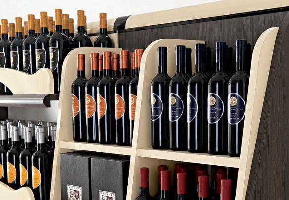 27 migliori immagini arredo enoteca su pinterest - Accessori vino design ...