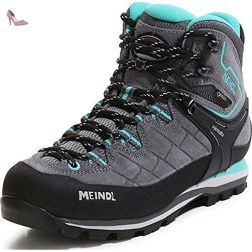 Meindl  3927 031, Chaussures de randonnée montantes pour femme anthrazit/türkis - Gris - anthrazit-türkis, 4 - Chaussures meindl (*Partner-Link)