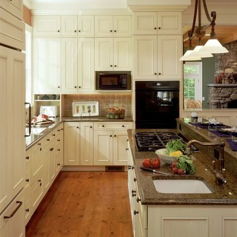 Best Brown Granite White Cabinets And Granite On Pinterest 400 x 300
