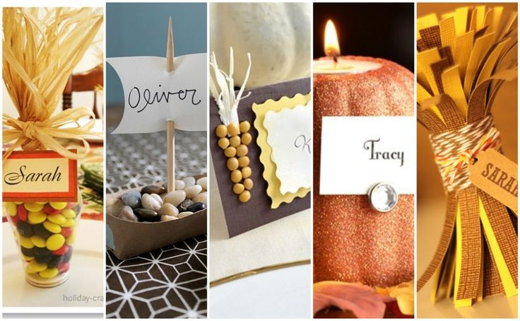 12 Thanksgiving Place Card Ideas