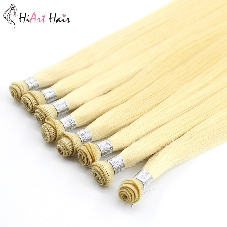HiArt 15g/pc Hair Extension Hand Tied Weft Sample …