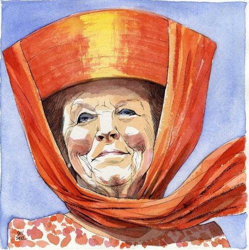 Koningin Beatrix - Siegfried Woldhek, woont in Giethoorn.